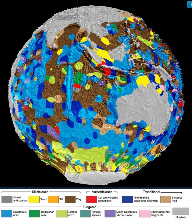 This Digital Map of the Seafloor Can Help Scientists Predict Environmental Change