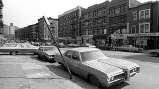 Cars of the 70s in New York City