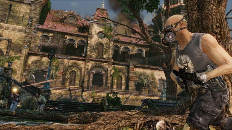 Uncharted 3 Multiplayer Screen Shots
