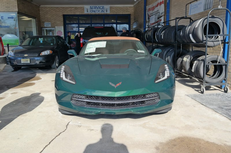 Excuse Me Mr. New Corvette Owner