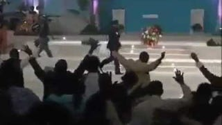 Watch This Pastor Use The Force To Wipe Out His Congregation