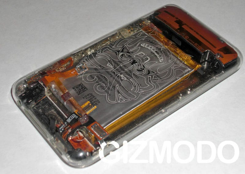 Clear iPhone 3G Replacement Case Shows Its Fugly Guts