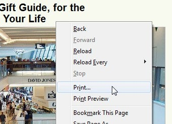 Add Print Preview to Your Firefox Right-Click Menu