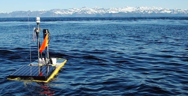Este nuevo dron espía submarino obtiene su energía del sol y las olas