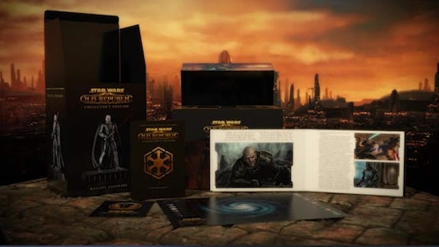 Unboxing the Force In The Old Republic's Collector's Edition