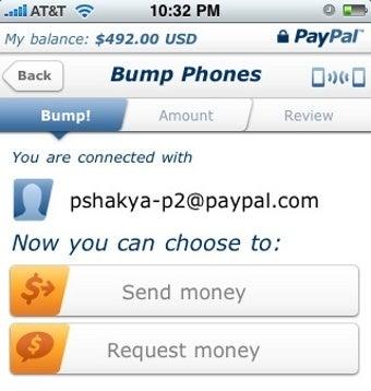"""PayPal 2.0 """"Bumps"""" Money Between iPhones"""