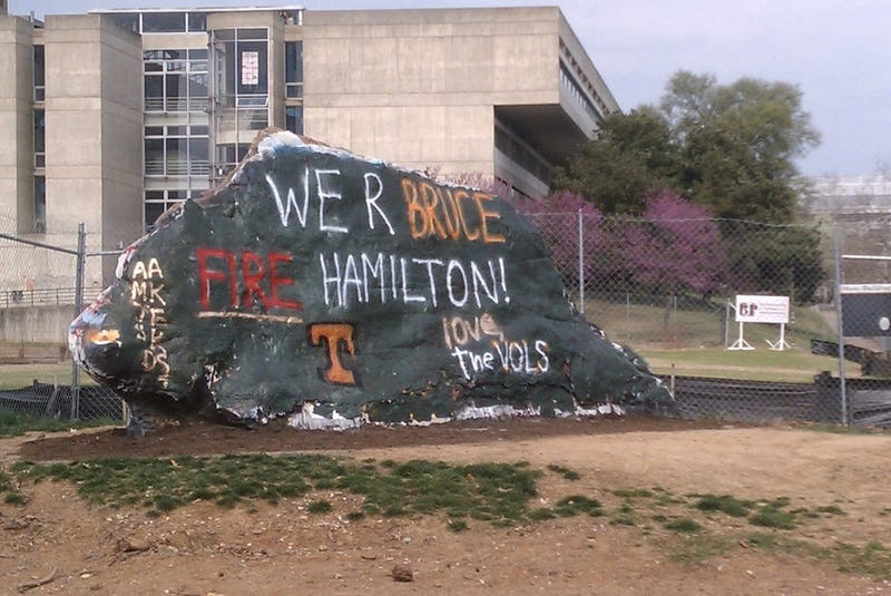 Bruce Pearl Between Rock And Hard Place