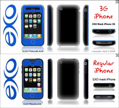 3G iPhone Case Shows Thicker, Curvier Backside (and Front-Facing Camera Too?)