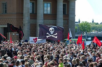 Hundreds Picket Pirate Bay Verdict In Best-Costumed Political Protest Ever