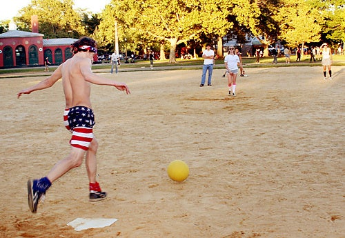 Adult Kickball Still Exists for Some Reason