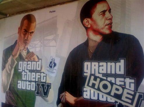 Barack/GTA IV Mashups Give Hope To LA