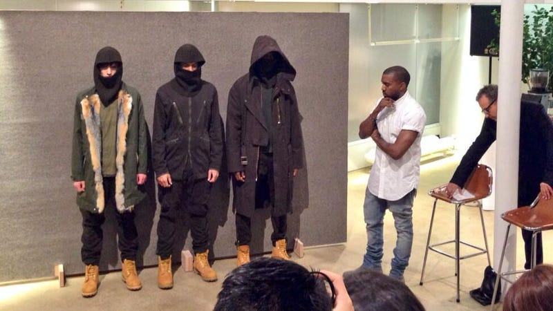 Kanye West Debuts Second Collection for A.P.C. With Lengthy Speech