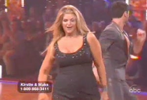 Watch Kirstie Alley's Shockingly Strong Dancing with the Stars Debut