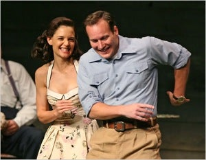 So, Is Katie Holmes Good In That Play Or Whatever?