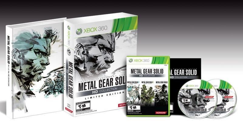 The Metal Gear Solid HD Collection Limited Edition is More Than Just an Art Book