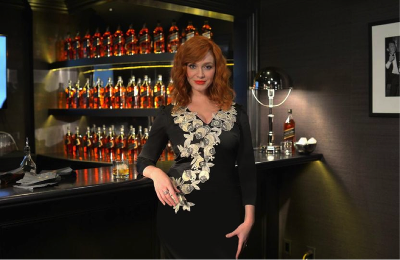 A Report from the Luckiest Man Alive: Christina Hendricks Taught Me All About Whisky
