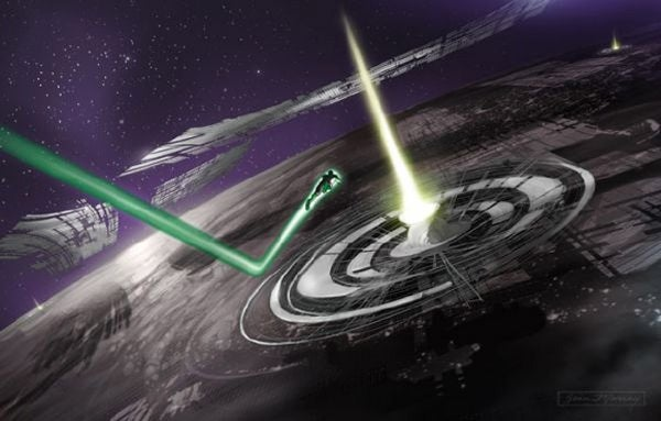Green Lantern Concept Art Shows The Origins Of The Glowing Space Cops