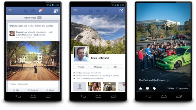 Facebook for Android 2.0: Completely Rebuilt for Speed
