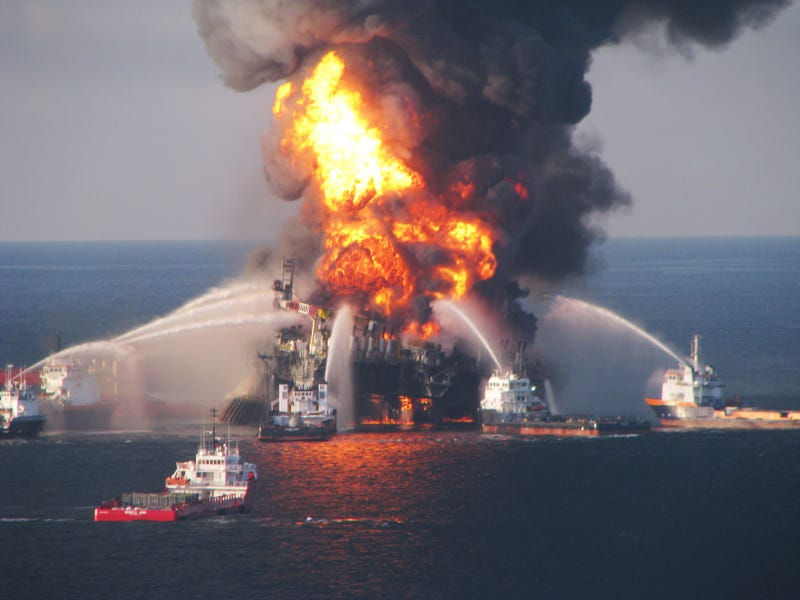 The Wreckage of the Deepwater Horizon is Emitting a Mysterious Substance Into the Gulf of Mexico