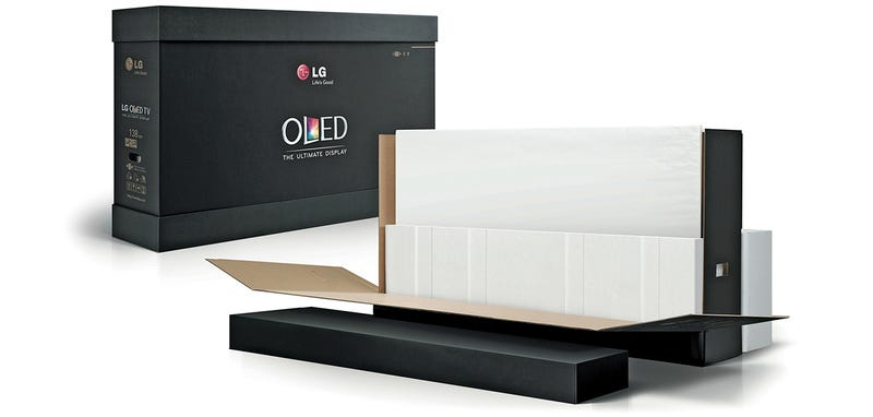 LG's Glueless Packaging Is Almost as Impressive as the OLED TV Inside