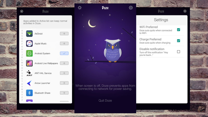 Doze Brings Marshmallow's Battery-Saving Feature to Older Androids
