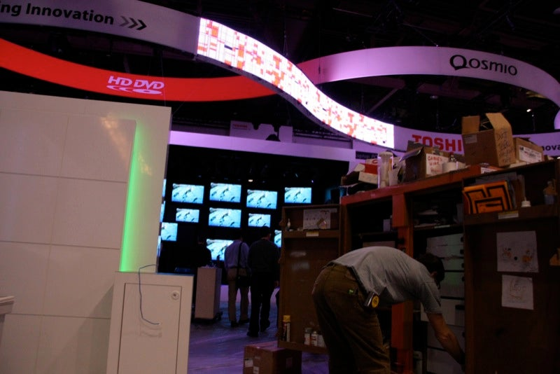 Spy Video of the CES Show Floor