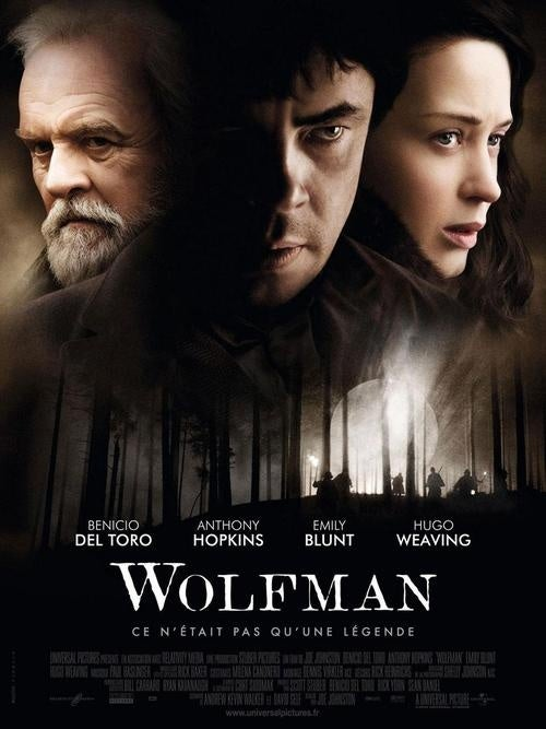 Wolfman French Poster