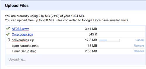 GDrive Is Here-ish: Google Docs to Allow Users to Upload Any File-Type
