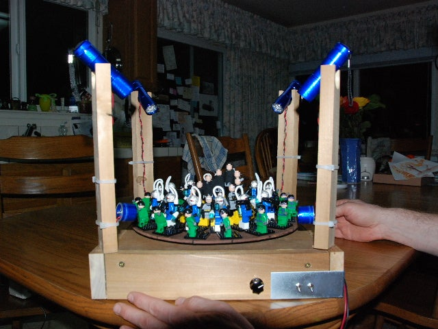 Batman Battles Baddies Forever in LEGO Zoetrope