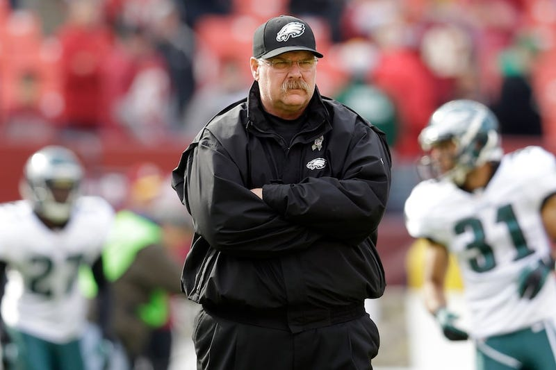 Andy Reid Was Fired Before Today's Game, Coached Anyway [Update: Reid Says He Hasn't Been Fired]