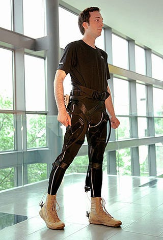 Scientists Made a Soft Exoskeleton That You Put On Like Pants