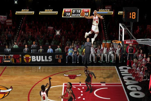 LeBron Takes His Talents to NBA Jam