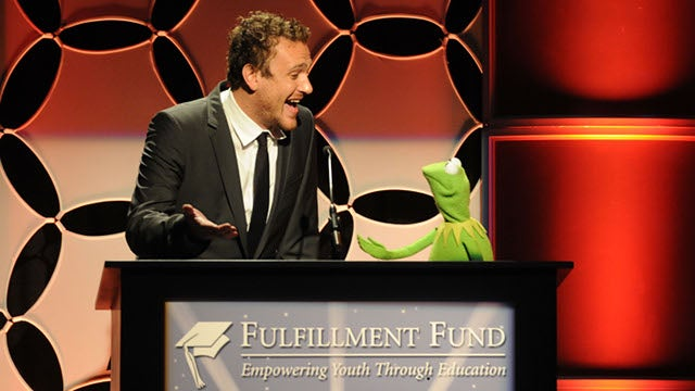 Kermit The Frog Just Doesn't Get Jason Segel