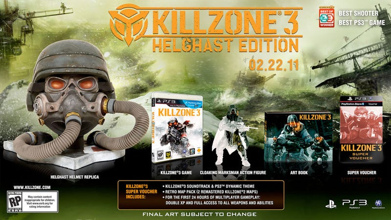 Killzone 3 'Helghast Edition' Looks Like A Hell Of A Package