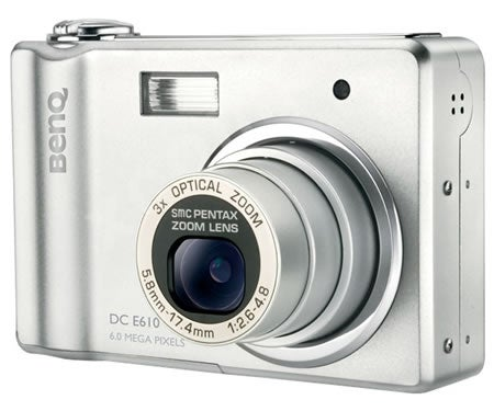 BenQ's E610 and C610: 6-Megapixel Entry Level Cameras for Newbies