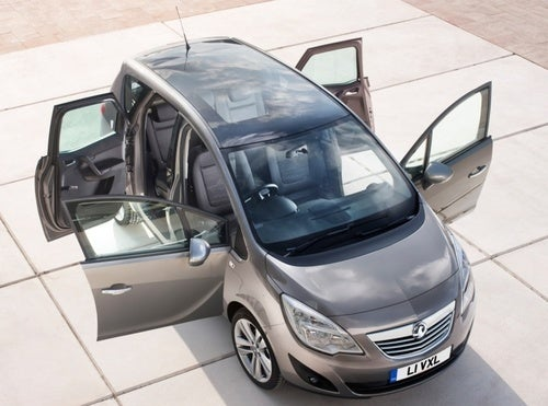 Opel/Vauxhall Meriva: Giant Jelly Bean Gets Suicide Doors