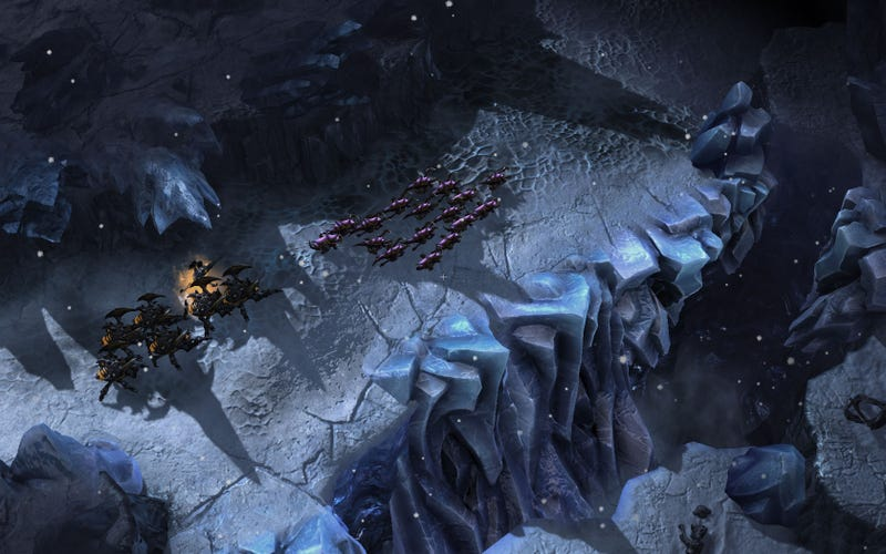 New StarCraft II: Heart of the Swarm Screen Shots, Annotated For Your Pleasure