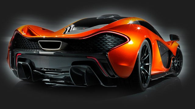 McLaren P1 Vs. F1: The Rear Quarter View