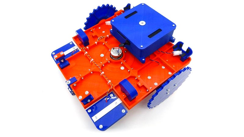 If You Have a 3D Printer You Can Make Yourself a Cheap Robotic Lawn Mower