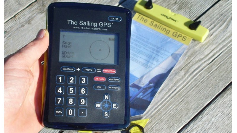 A GPS Device Designed Specifically For Pirates (and Other Sailing Types)