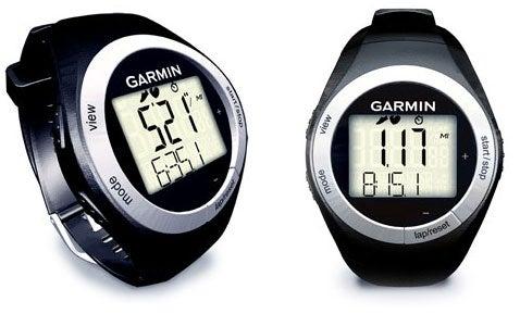 Garmin Forerunner 50 Slim Sports Watch Records Mileage and Speed
