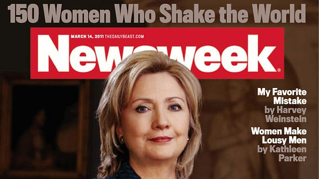 Newsweek Proves Its Newfound Relevance With Hillary Clinton, Charlie Sheen Stories