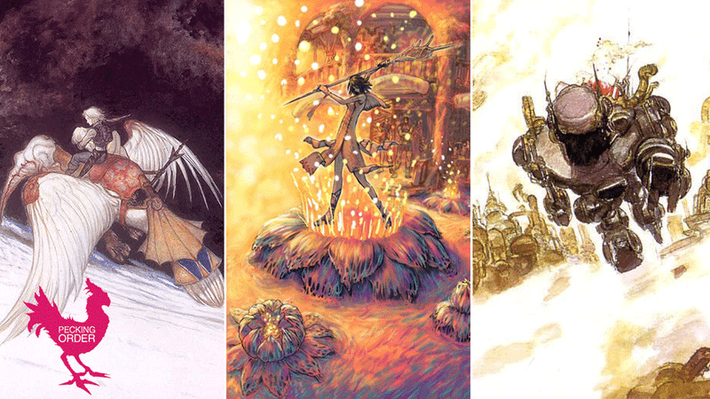 Let's Rank The Final Fantasy Games, Best to Worst