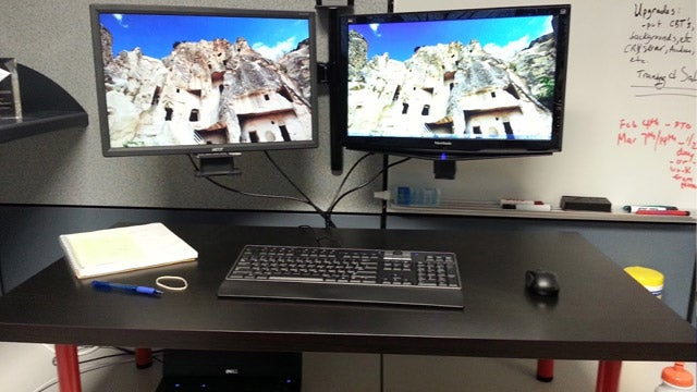 The Cubicle Standing Desk
