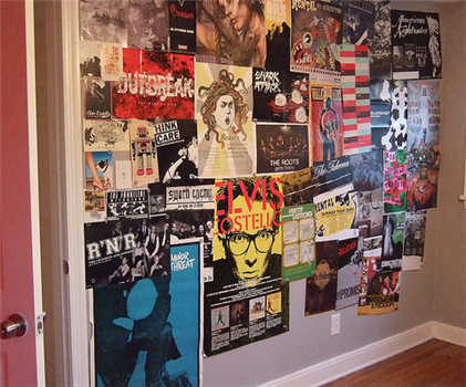 Weekend Project: Make a magnetic poster wall