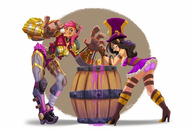 If League of Legends Champions Were Cartoon Characters