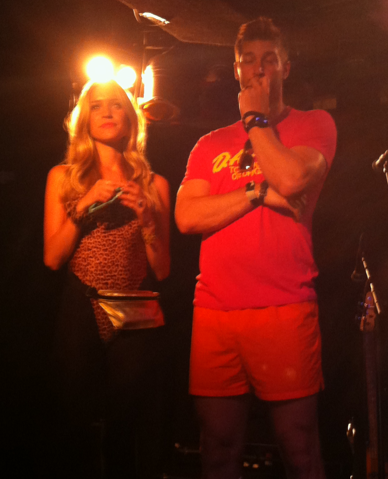 Jay Cutler's 1980s Charity Party: Billy Ocean And Many Grimaces