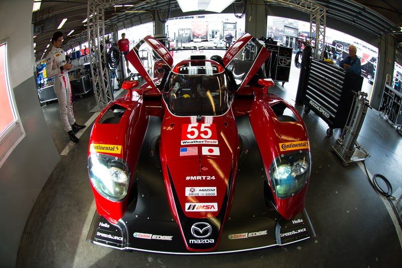The Secret To The Mazda Prototype's New Speed Is Its Engine Swap For 2016