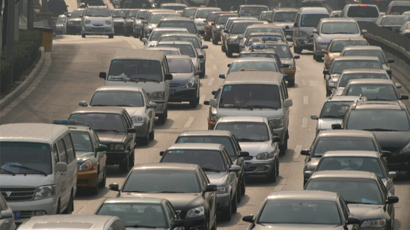 Traffic In China Is Agonizingly, Incredibly Slow