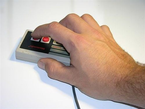 The NES Controller Optical Mouse